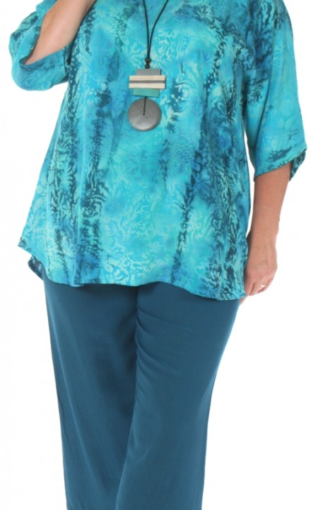 Angel Circle SS20 - Cyan Blouse