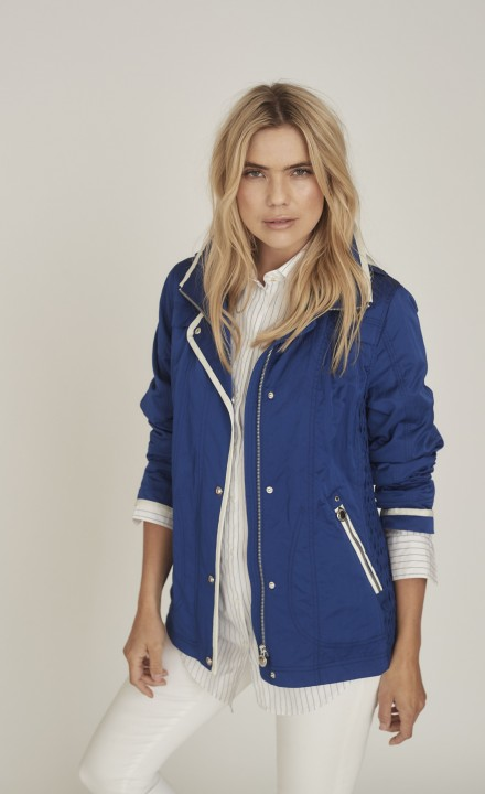 Fransden SS20 - Blue Raincoat