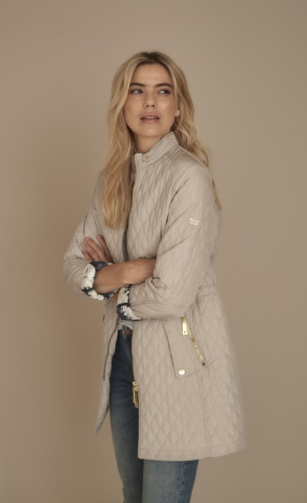 Fransden SS20 - Beige Long Coat