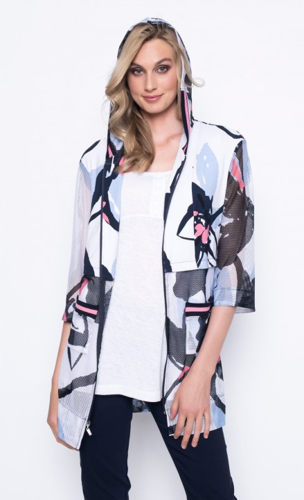 Picadilly SS20 - Patterned Sheer Blouse